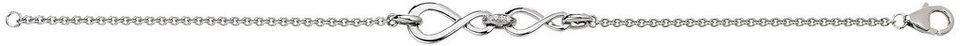 VIVENTY Armband »Infinity, 775527« mit Zirkonia in Silber 925