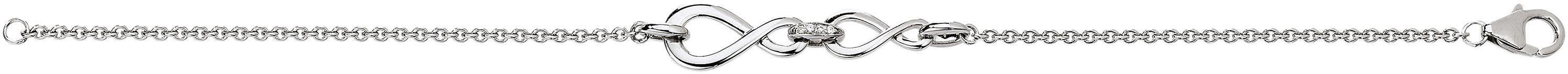 VIVENTY Armband »Infinity, 775527« mit Zirkonia