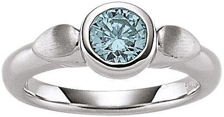 VIVENTY Silberring »776671« mit Blautopas in Silber 925-blau