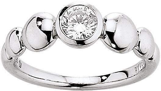 VIVENTY Silberring »775691« mit Zirkonia in Silber 925