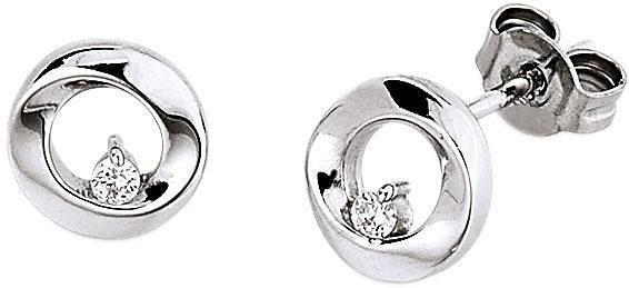 VIVENTY Paar Ohrstecker »776514« mit Zirkonia in Silber 925