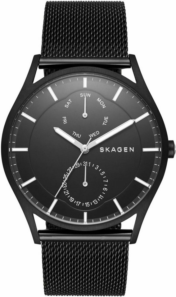 Skagen Multifunktionsuhr »HOLST, SKW6318« in schwarz