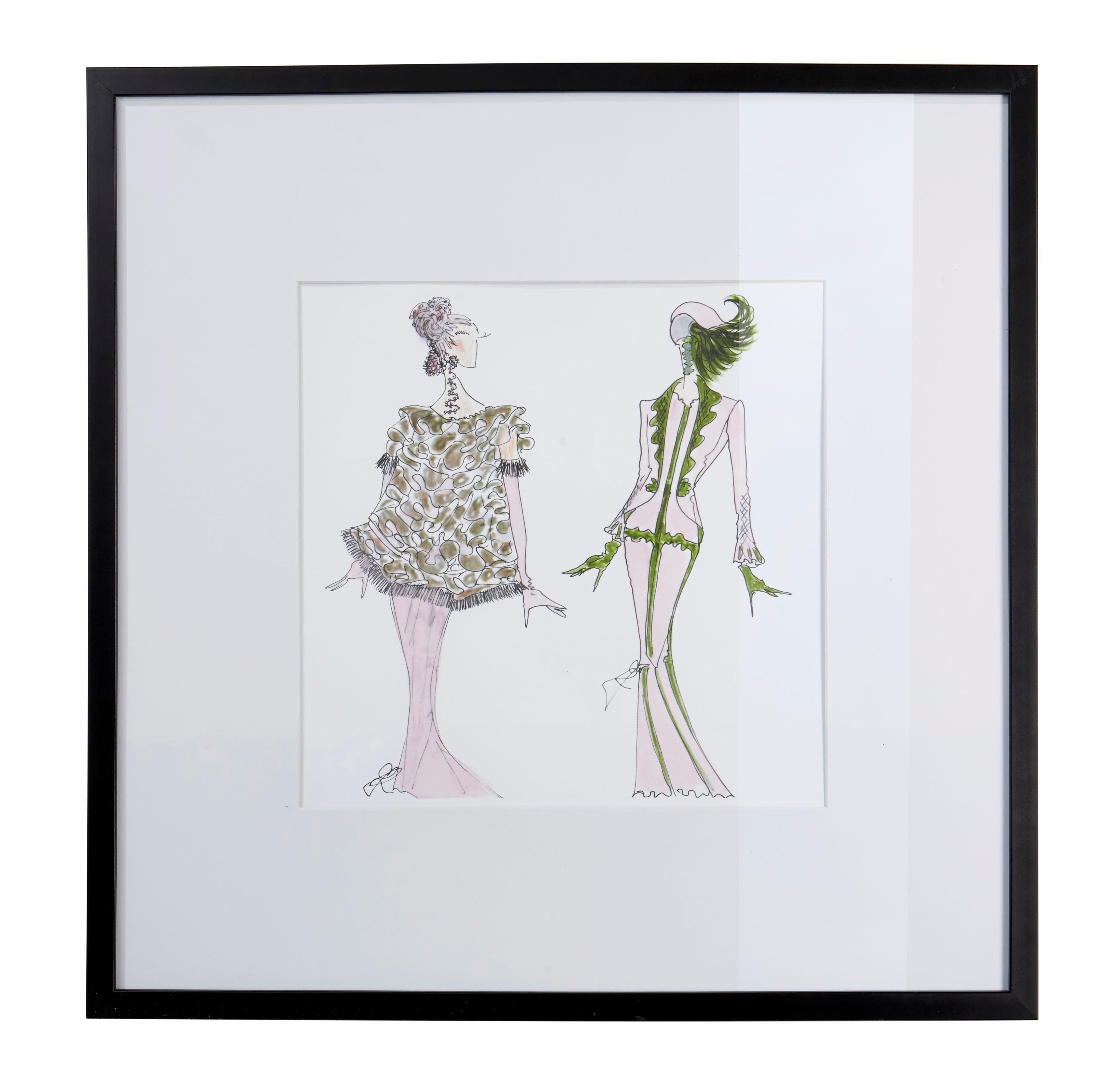 GMK Home & Living »Bild« mit schwarzem Holzrahmen, 50/50 cm