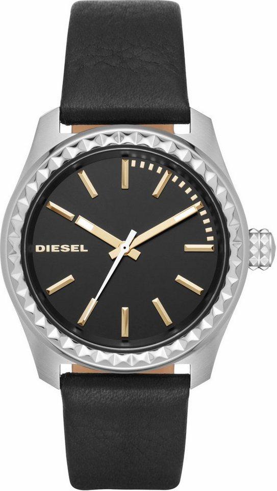 Diesel Quarzuhr »KRAY KRAY, DZ5530« in schwarz