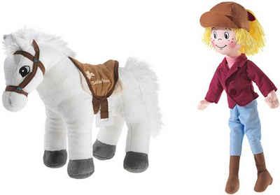 Heunec® Kuscheltier »Bibi & Pferd Sabrina« (Set, 2-St)