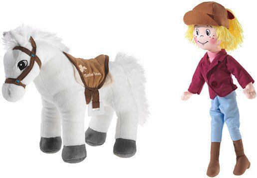 Heunec® Kuscheltier »Bibi & Pferd Sabrina« (Set, 2 St)