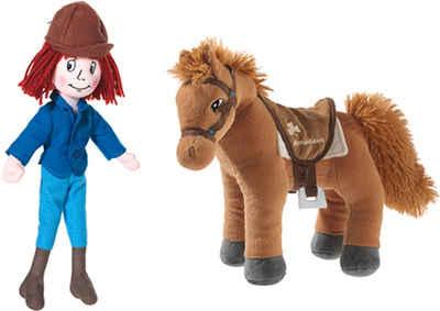 Heunec® Kuscheltier »Tina & Pferd Amadeus« (Set, 2-St)