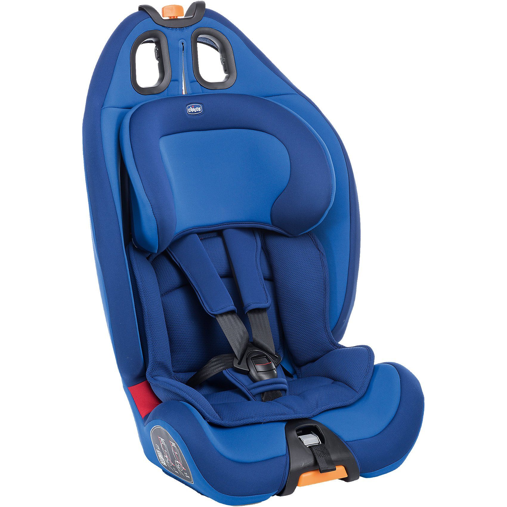 CHICCO Auto-Kindersitz Gro-Up, power blue