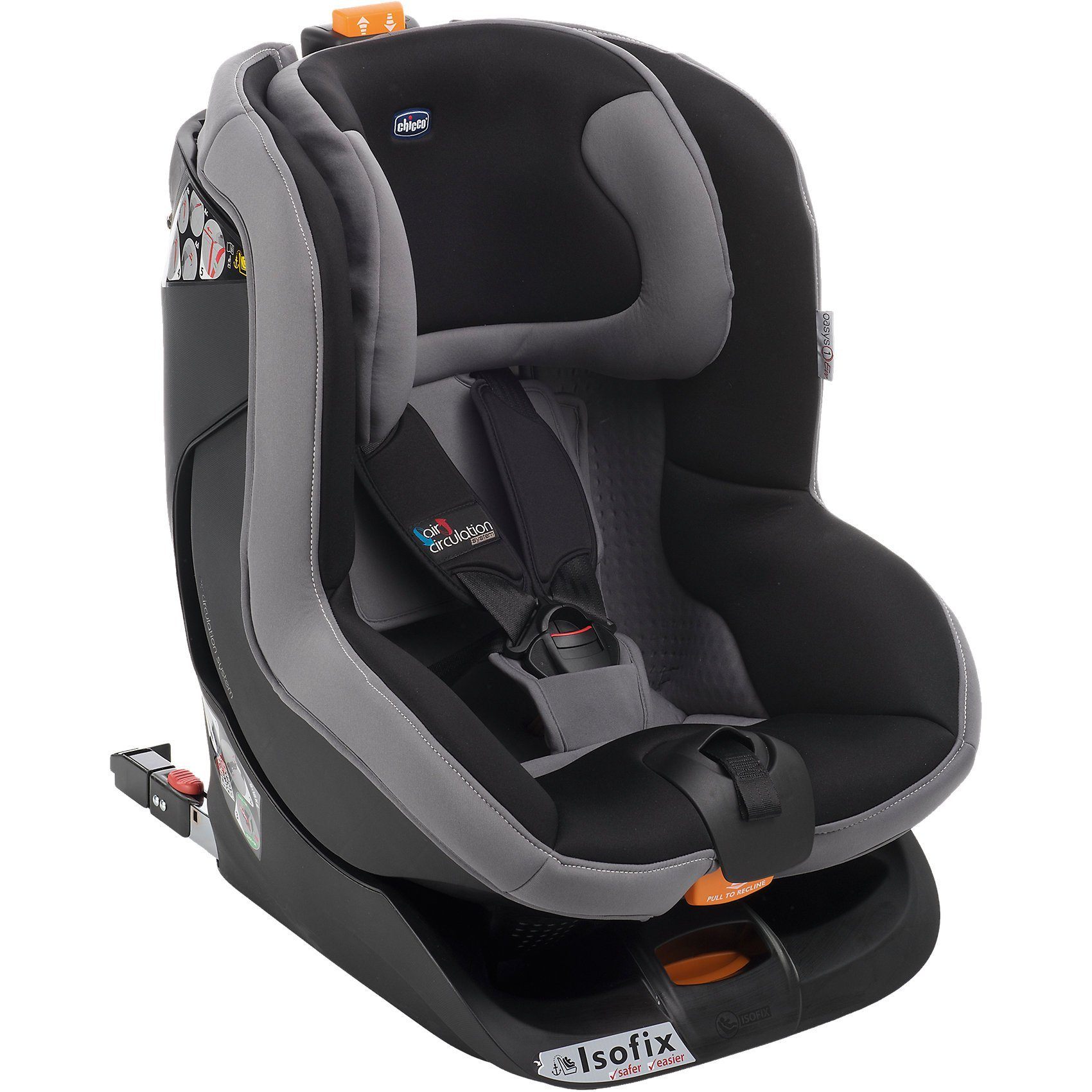 CHICCO Auto-Kindersitz Oasis 1 Evo Isofix, black night