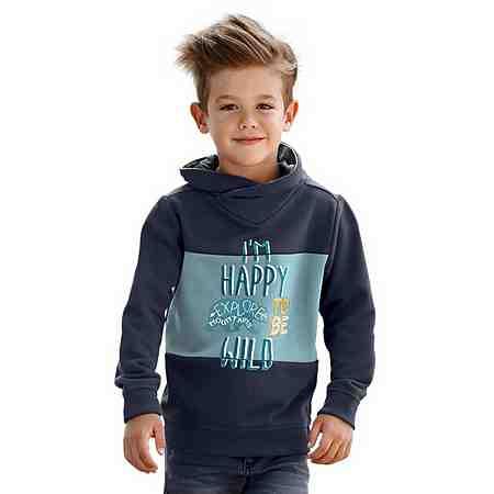 s.Oliver RED LABEL Junior Sweatshirt Mit coolem Flockdruck und Stickerei