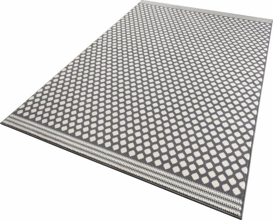 Teppich, Zala Living, »Spot«, gewebt in grau creme