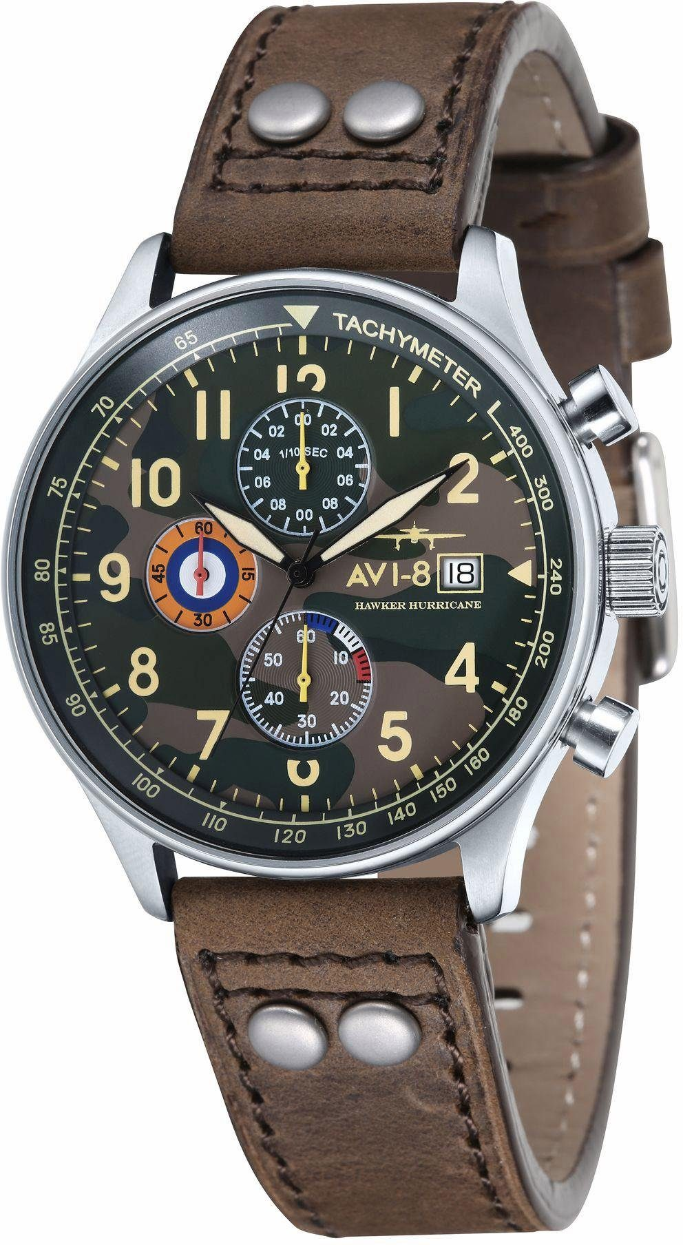 AVI-8 Chronograph »Hawker Hurricane, AV-4011-09«