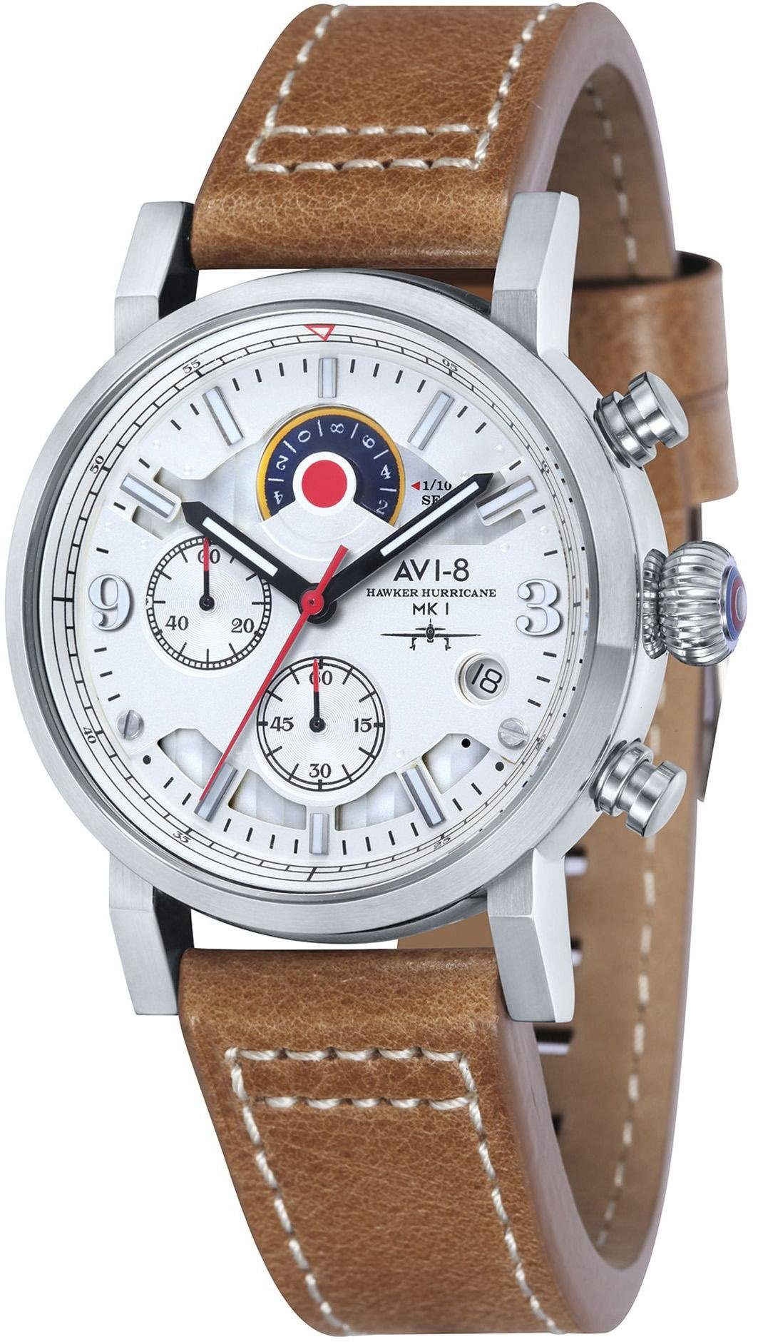 AVI-8 Chronograph »Hawker Hurricane, AV-4041-01«