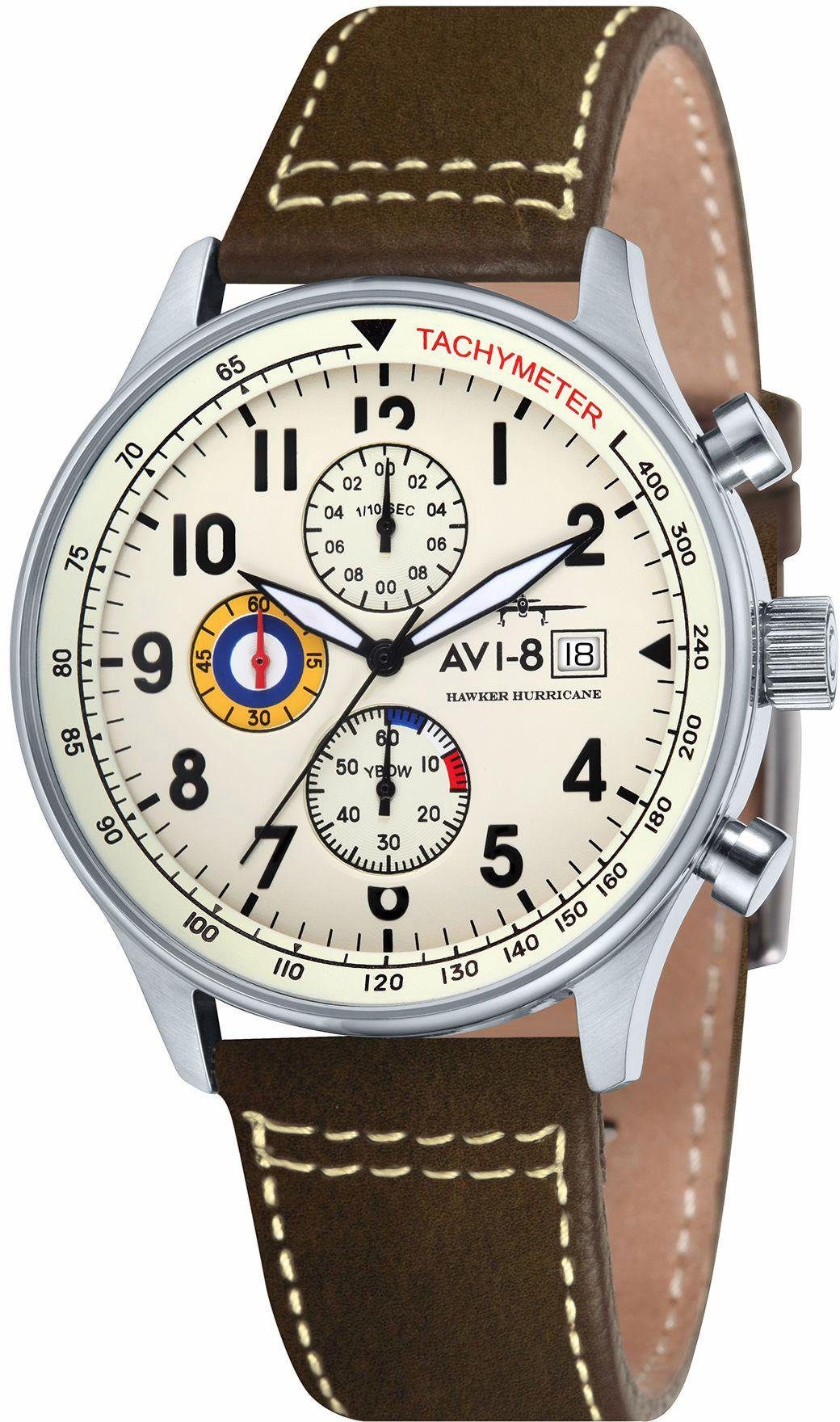 AVI-8 Chronograph »Hawker Hurricane, AV-4011-04«