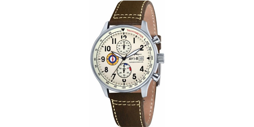 AVI-8 Chronograph »Hawker Hurricane, AV-4011-04«