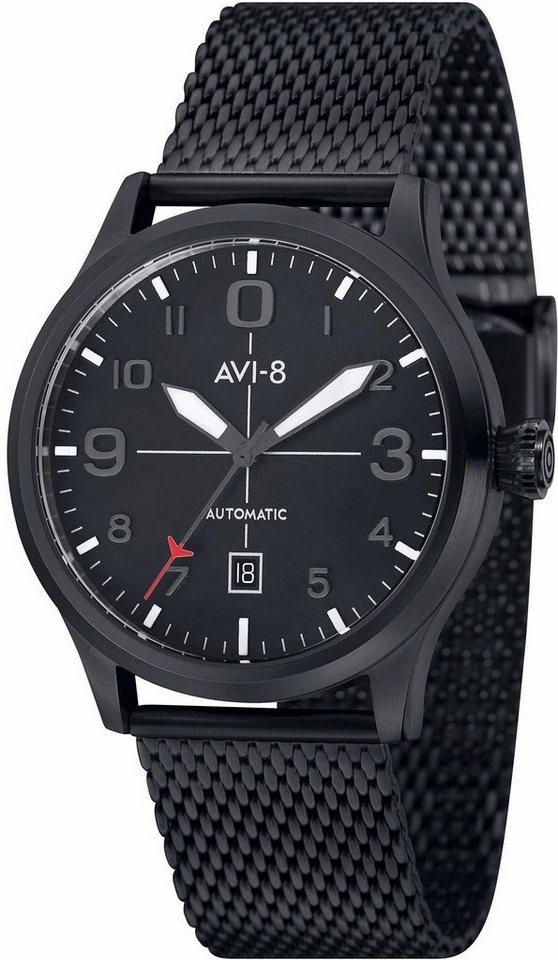 AVI-8 Quarzuhr »Flyboy, AV-4021-33« in schwarz