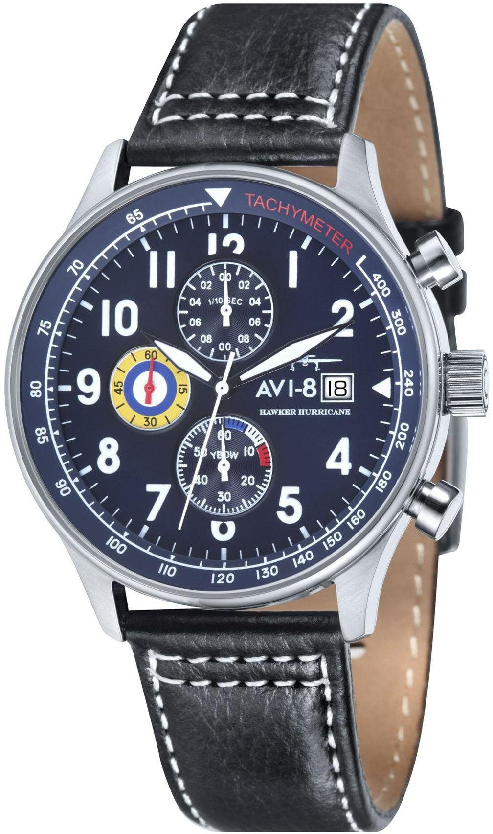 AVI-8 Chronograph »Hawker Hurricane, AV-4011-03«