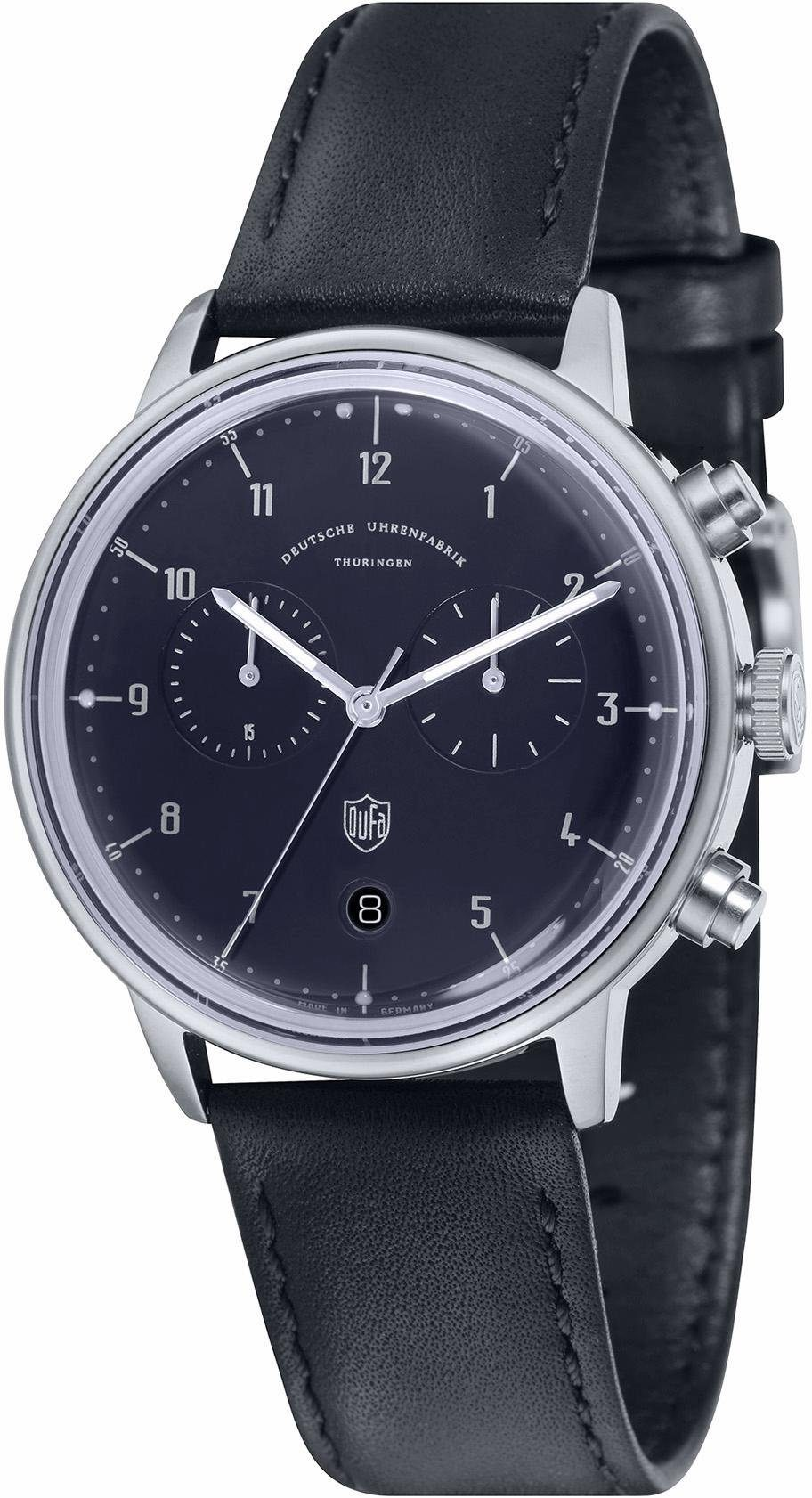 DuFa Chronograph »Hannes, DF-9003-03«, Made in Germany