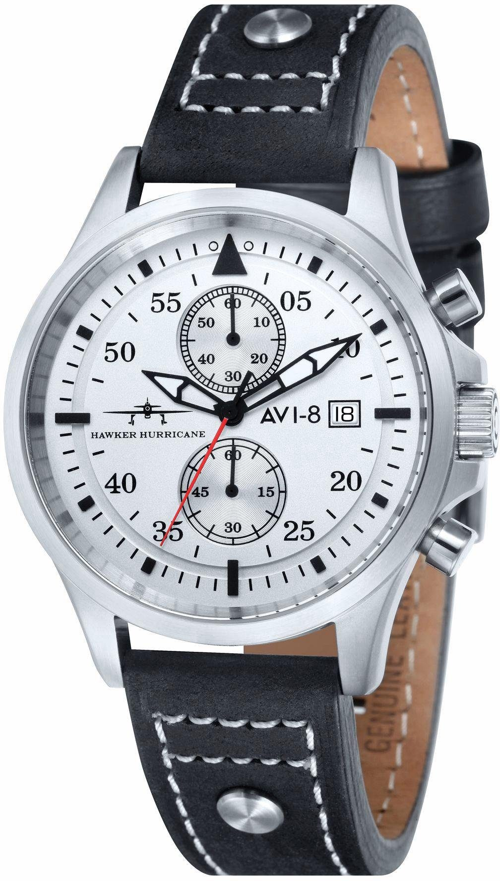 AVI-8 Chronograph »Hawker Hurricane, AV-4013-01«