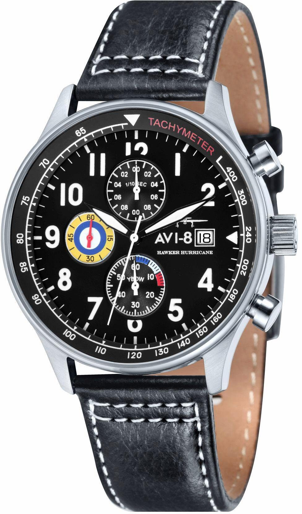 AVI-8 Chronograph »Hawker Hurricane, AV-4011-02«
