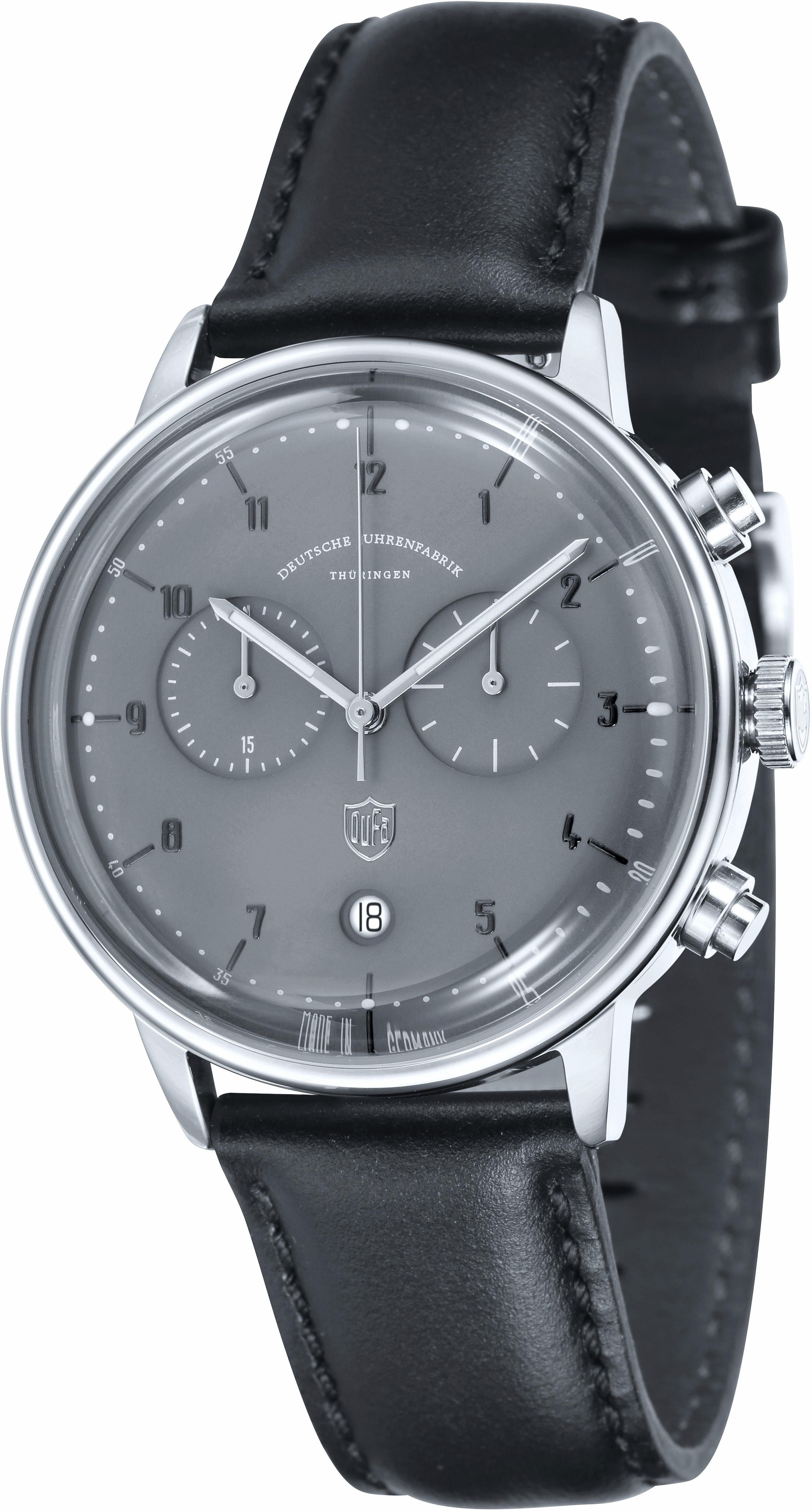 DuFa Chronograph »Hannes, DF-9003-08«, Made in Germany