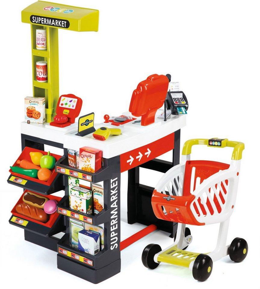 Smoby Toys Kaufladen mit Einkaufswagen, »Supermarkt«