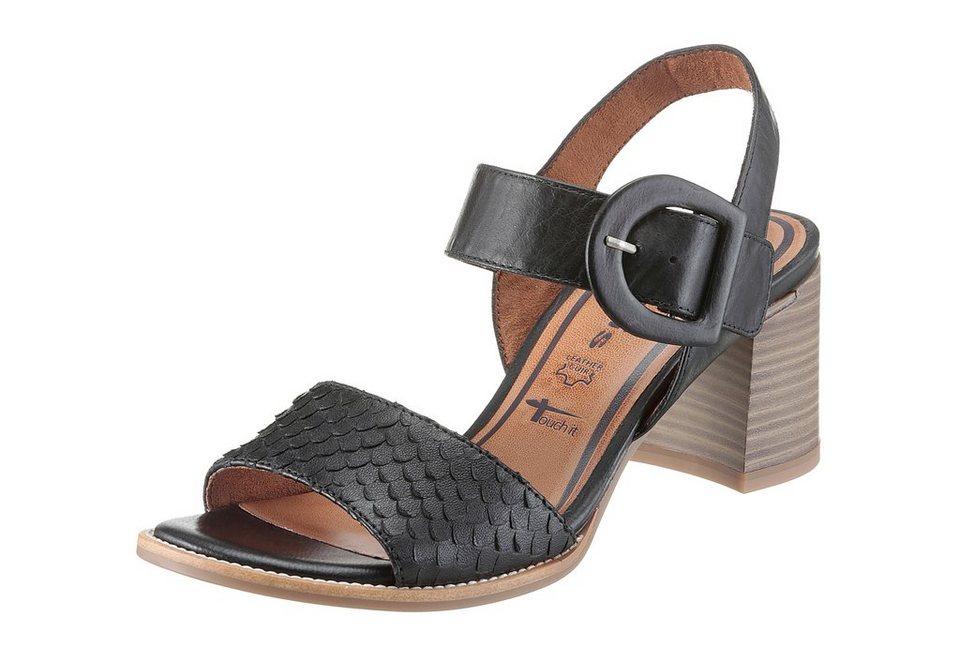 tamaris sandalette mit snake pr gung kaufen otto. Black Bedroom Furniture Sets. Home Design Ideas