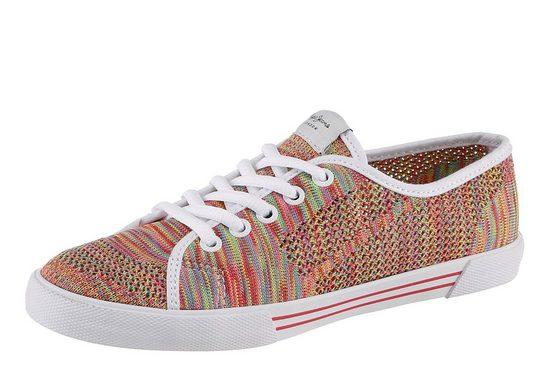 Pepe Jeans Sneaker, in farbenfrohem Look