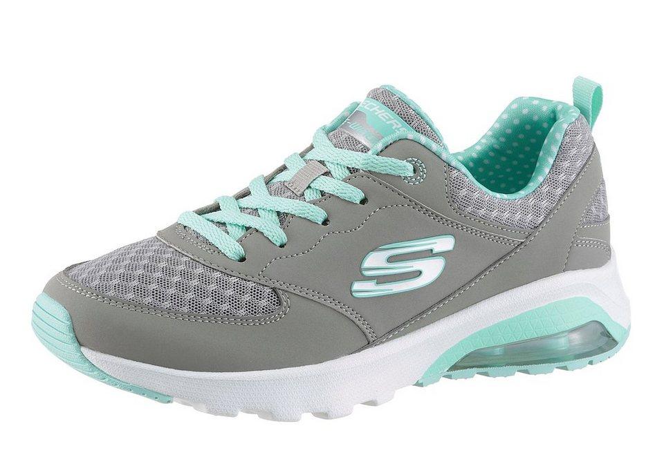 Skechers Sneaker mit Memory Foam in grau-mint