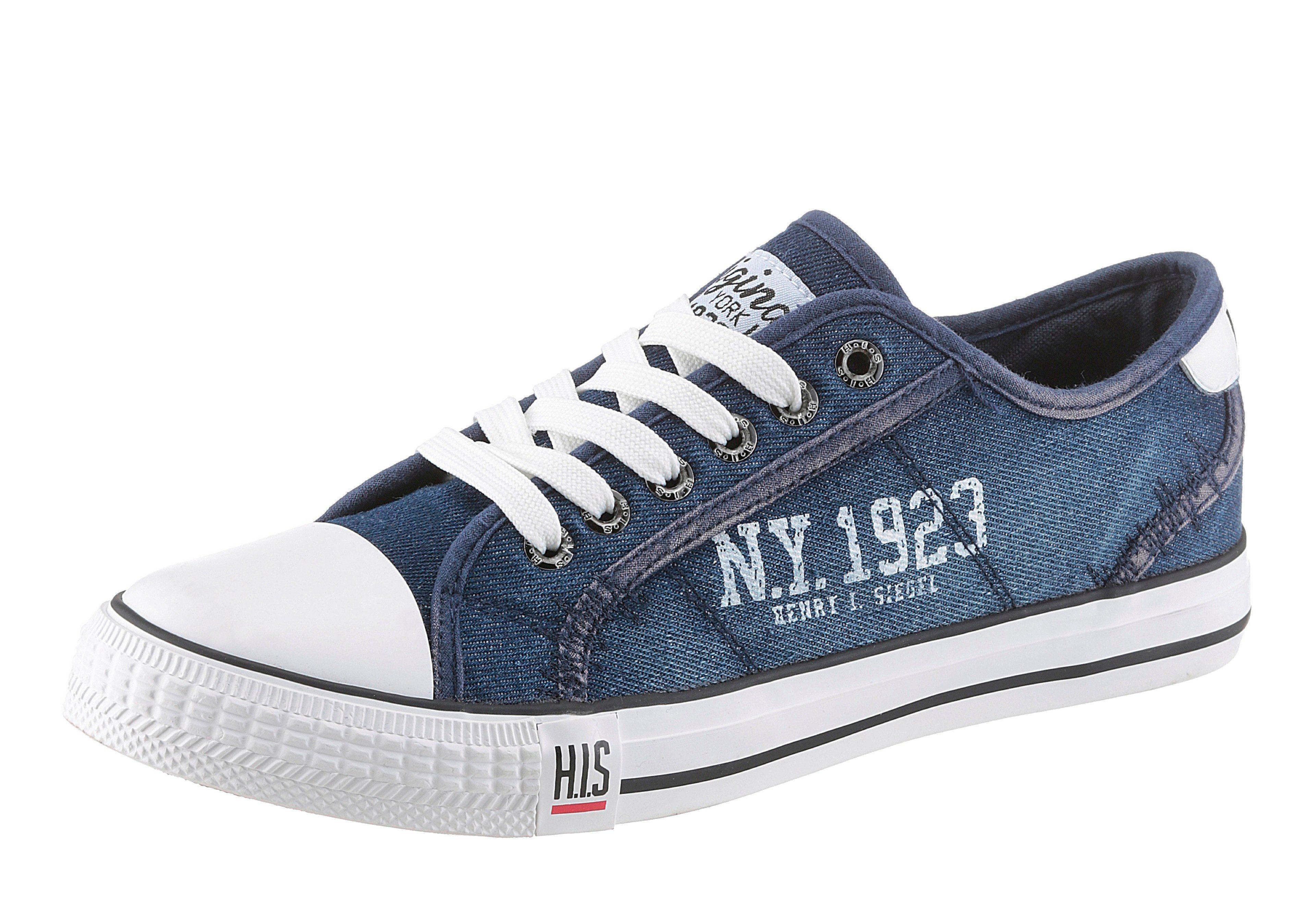 HIS Sneaker, mit Gummikappe online kaufen  jeansblau-jeans-blau