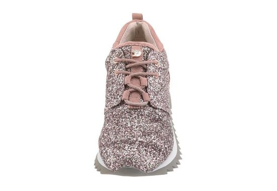 Tom Tailor Sneaker, in glitzender Optik