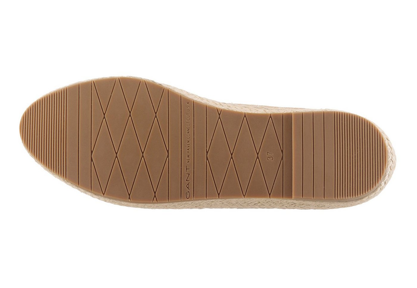 Gant Footwear Loafer, mit Jutebesatz