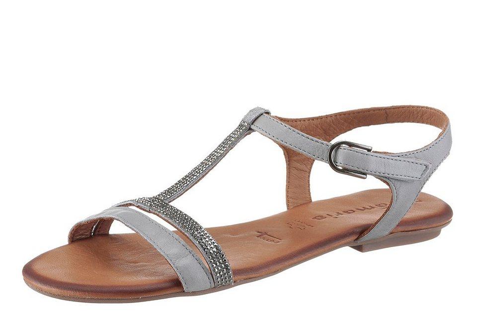 tamaris sandale mit tollen strasssteinen kaufen otto. Black Bedroom Furniture Sets. Home Design Ideas