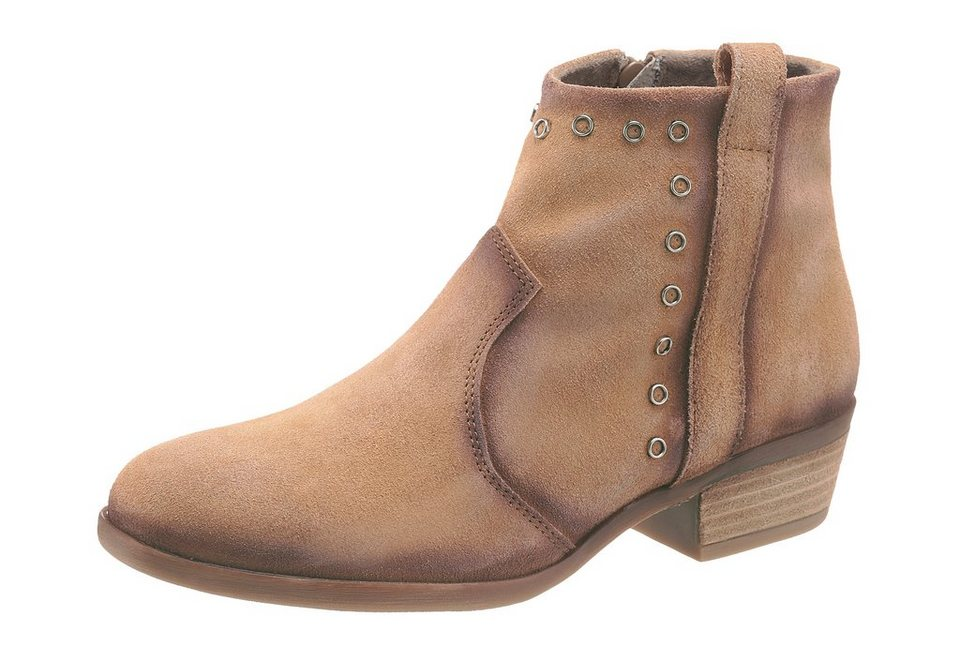 Corkies Stiefelette im Used Look in taupe