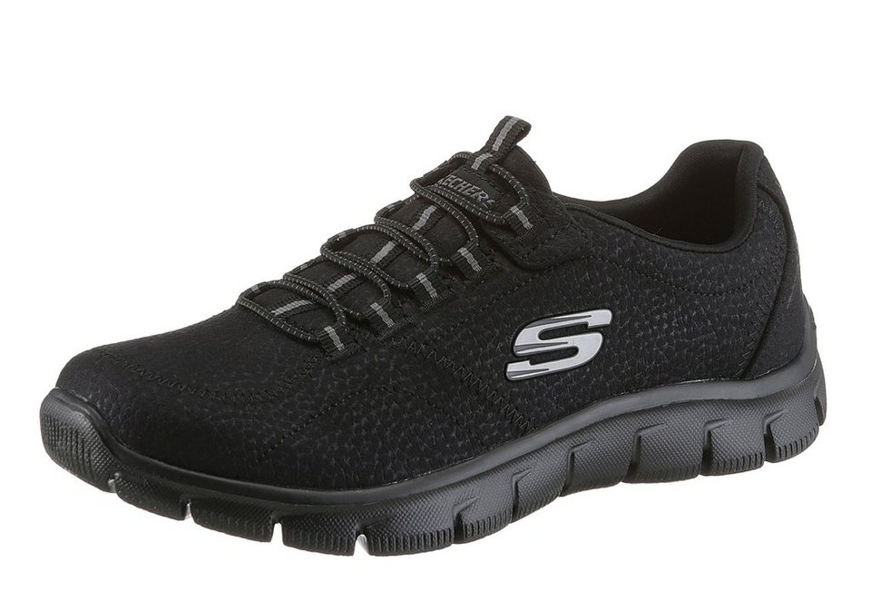 Skechers Slipper mit Memory Foam in schwarz