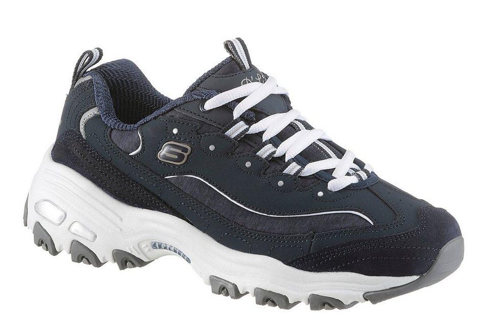 Skechers »D'Lites me Time« Sneaker mit Memory Foam in navy