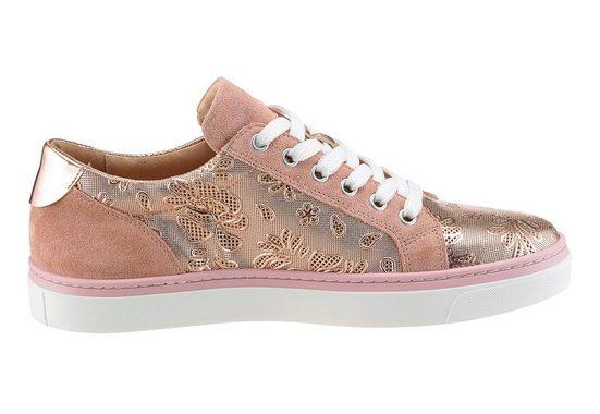TINE'S Sneaker, im modischen Metallic-Look