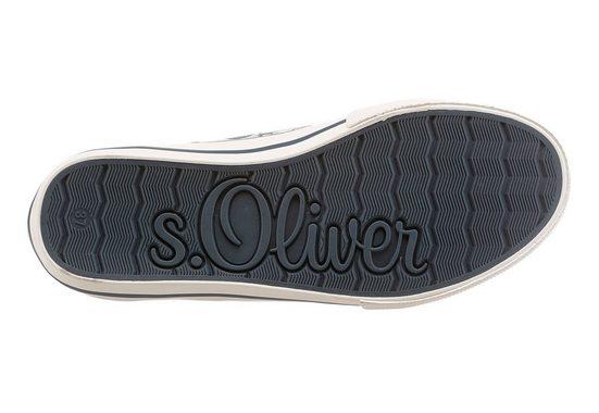 s.Oliver RED LABEL Sneaker, in blumigem Design