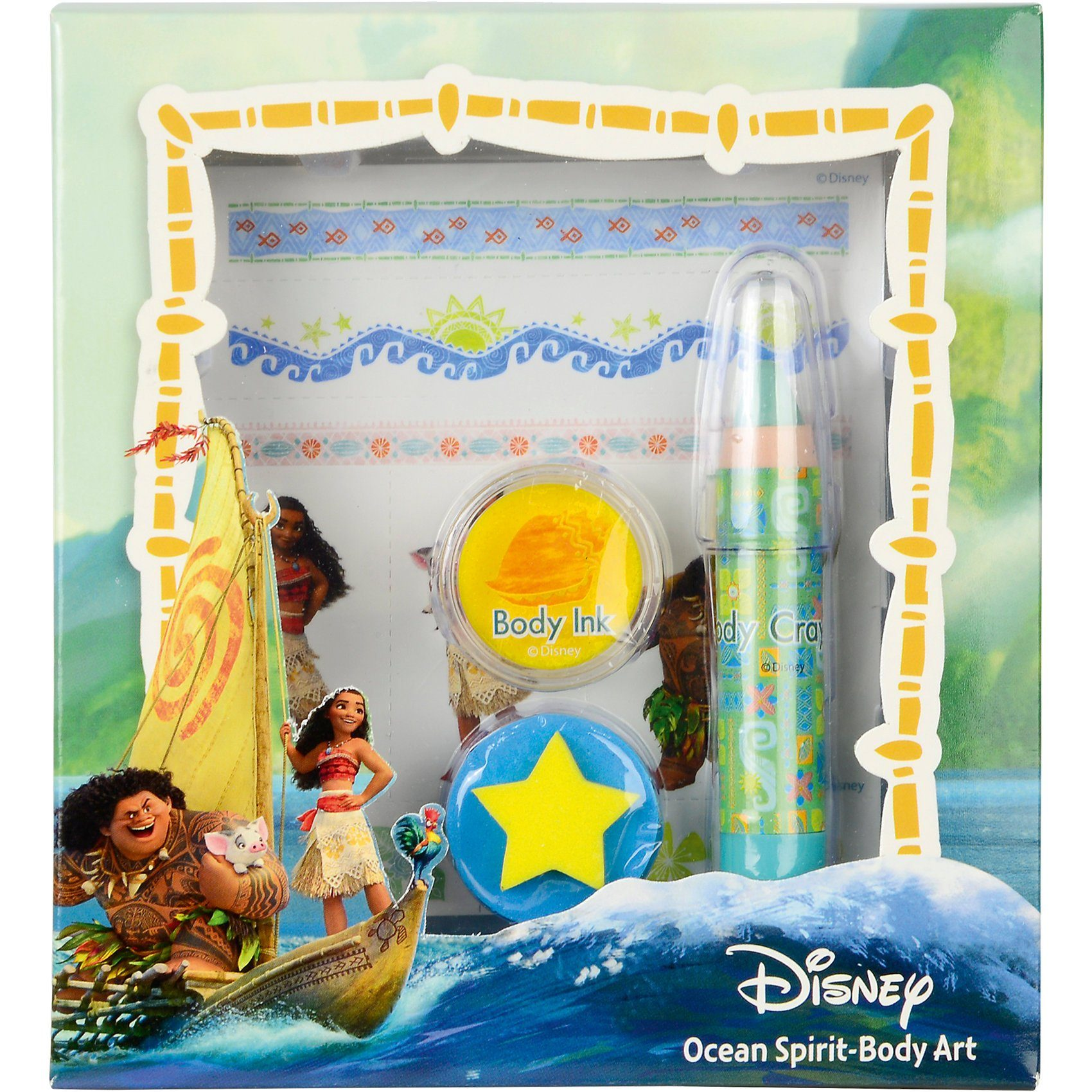 Empeak Disney Vaiana Ozean Körperkunst