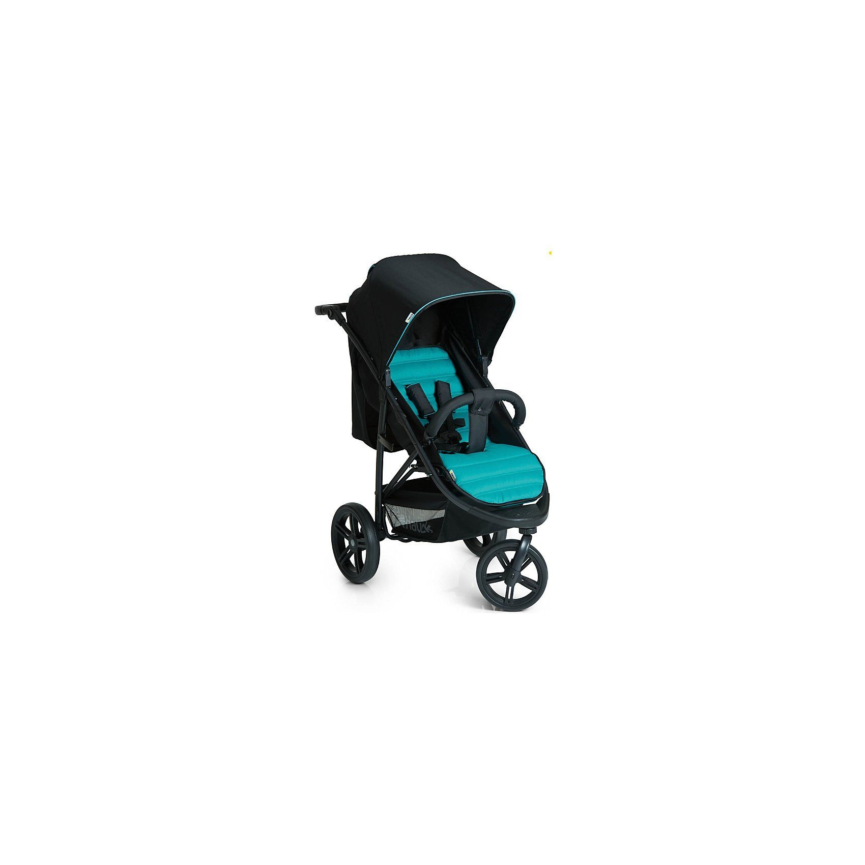 Hauck Jogger Rapid 3, caviar/turquoise
