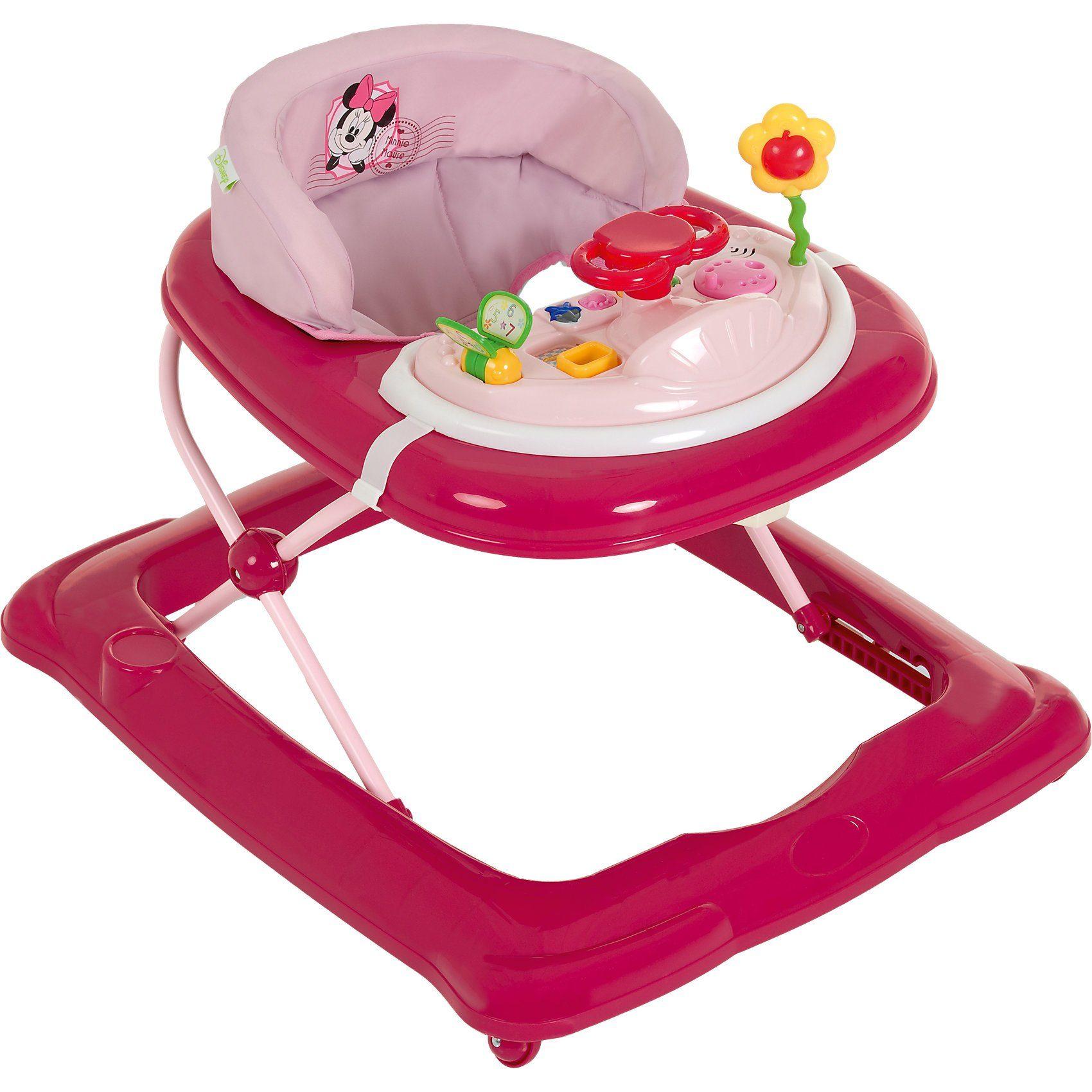 Hauck Lauflernhilfe Player, minnie pink II