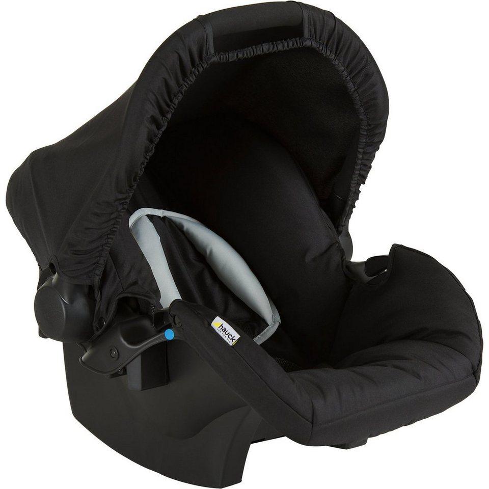 Hauck Babyschale Zero Plus, balck in schwarz