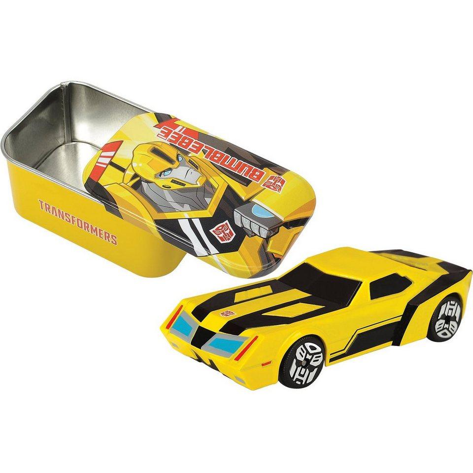 Dickie Toys Transformers 1 Fahrzeug mit Blechdose