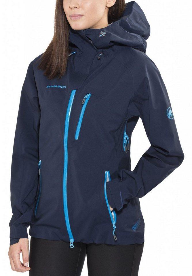Mammut Regenjacke »Makai Jacket Women« in blau