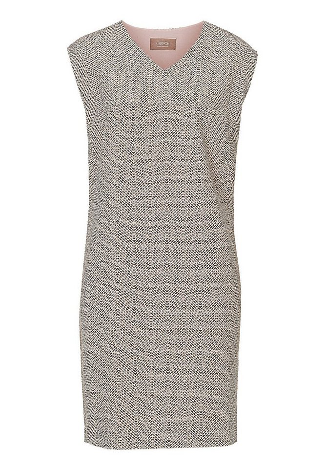Cartoon Kleid in Weiß/Schwarz - Weiß