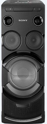 Sony MHC-V77DW Lautsprecher (Multiroom, Bluetooth, NFC) in schwarz