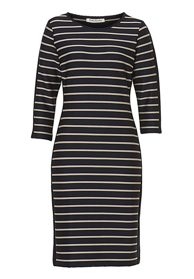 Betty Barclay Kleid in Dark Blue/Taupe - Bl