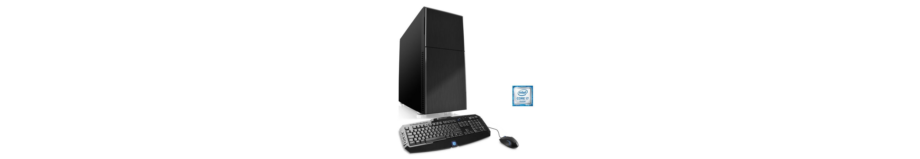 CSL Gaming PC | Core i7-6700 | GeForce GTX 1060 | 16 GB RAM | SSD »Speed T7697 Windows 10 Home«