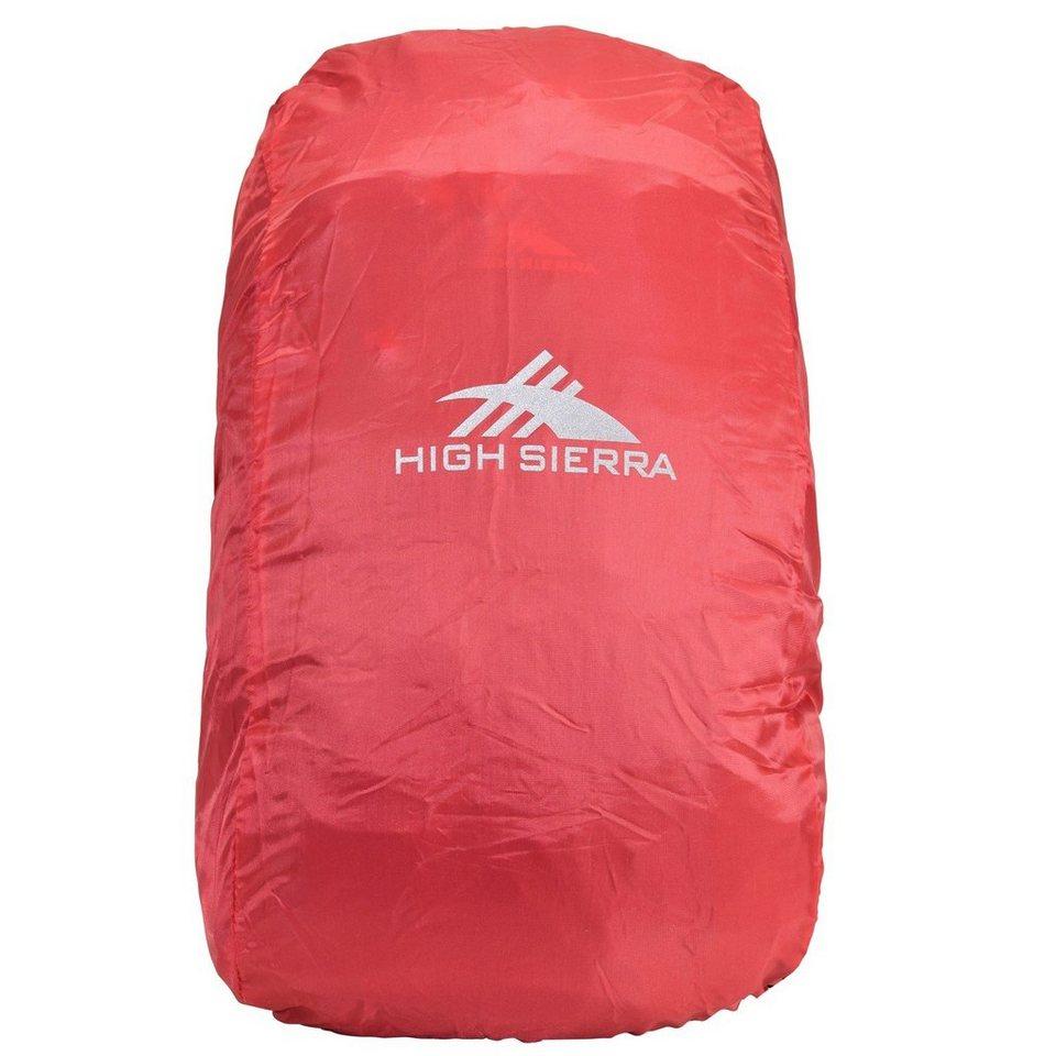 High Sierra Accessoires Regenschutzhülle 25-35L in red