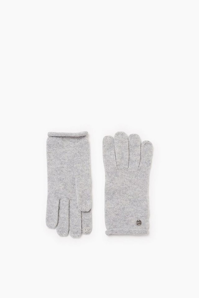 ESPRIT CASUAL Touchscreen Handschuhe, Wolle/Kaschmir in PASTEL GREY